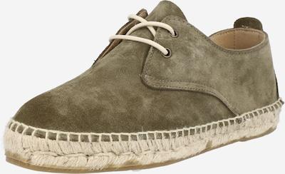 JUTELAUNE Schnürschuh in khaki, Produktansicht