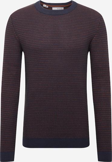 Megztinis 'WES' iš SELECTED HOMME, spalva – tamsiai mėlyna / rusva, Prekių apžvalga