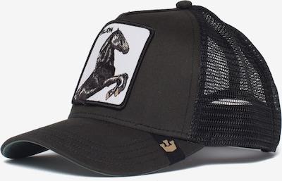 GOORIN Bros. Pet 'Stallion' in de kleur Lichtgrijs / Zwart / Wit, Productweergave