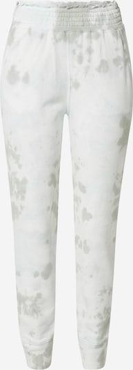 Abercrombie & Fitch Kalhoty - olivová / přírodní bílá, Produkt