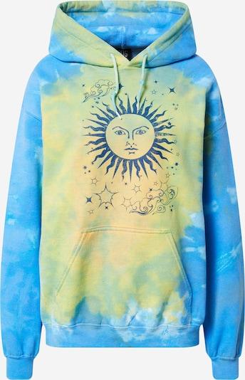 BDG Urban Outfitters Sweatshirt 'SUN MOON' in de kleur Hemelsblauw / Geel, Productweergave
