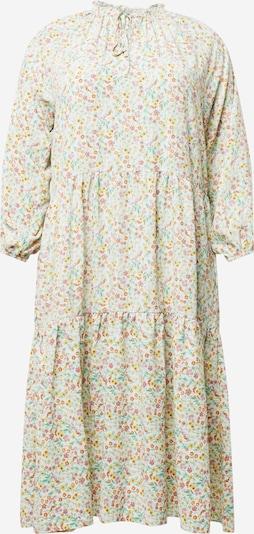 GLAMOROUS CURVE Kleid in gelb / hellgelb / jade / orange / rosé, Produktansicht