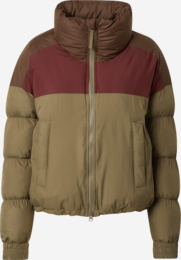 COLUMBIA Outdoor Jacket 'Pike Lake' in Khaki / Berry, Item view