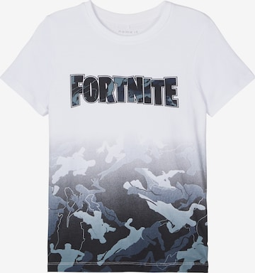 NAME IT Shirt 'FORTNITE' in White