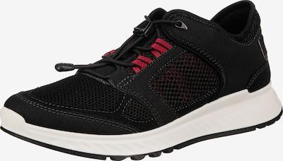 piros / fekete ECCO Rövid szárú edzőcipők 'Exostride', Termék nézet