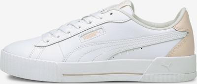 PUMA Sneaker 'Carina Crew' in creme / weiß, Produktansicht