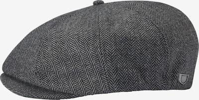 Megzta kepurė 'BROOD' iš Brixton , spalva - pilka / juoda, Prekių apžvalga