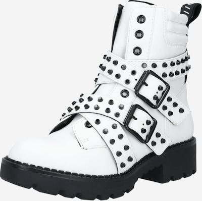 BUFFALO Boots 'Miley' in schwarz / weiß, Produktansicht