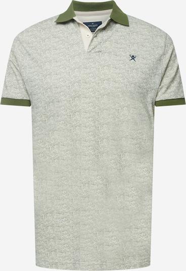 Hackett London T-Krekls, krāsa - olīvzaļš / balts, Preces skats