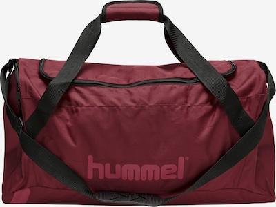 Hummel Sporttas in de kleur Bourgogne / Zwart, Productweergave