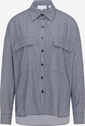 usha BLUE LABEL Bluse in navy / hellgrau, Produktansicht