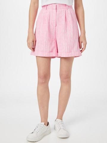 Crās Voltidega püksid 'Sisleycras', värv roosa