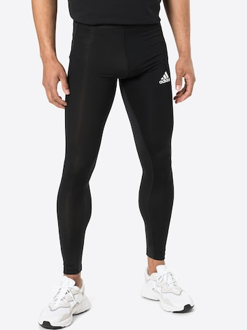 ADIDAS PERFORMANCE Sports trousers in Black