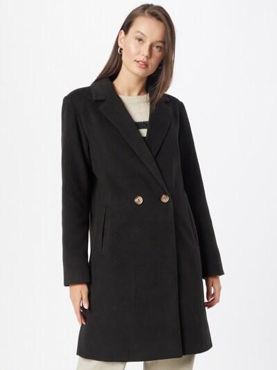 VILA Prijelazni kaput 'Poku' u crna, Prikaz modela
