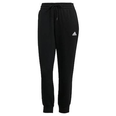 ADIDAS PERFORMANCE Sporthose 'Essentials French Terry' in schwarz / weiß, Produktansicht