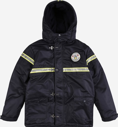 SALT AND PEPPER Winter jacket in navy / mustard / silver, Item view