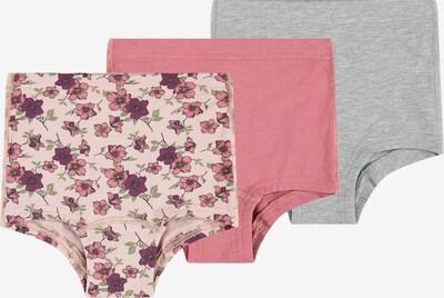 Chiloţi NAME IT pe gri / roz / rosé, Vizualizare produs