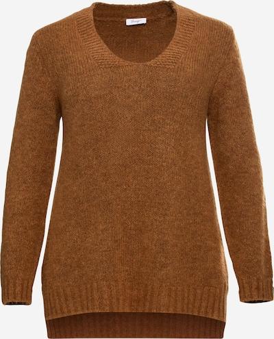 SHEEGO Pullover in cognac, Produktansicht