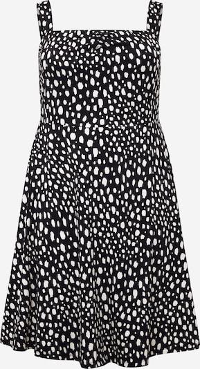 Dorothy Perkins Curve Šaty 'Rappy' - černá / bílá, Produkt