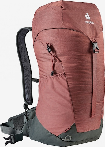 DEUTER Sports Backpack in Red