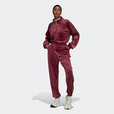 ADIDAS ORIGINALS Jumpsuit in de kleur Wijnrood, Modelweergave