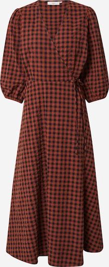 minimum Kleid 'Elmina 9083' en braun / dunkelrot / schwarz, Vue avec produit