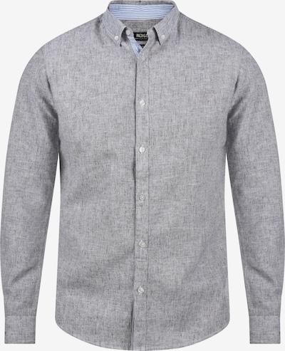 INDICODE JEANS Leinenhemd 'Luan' in grau, Produktansicht