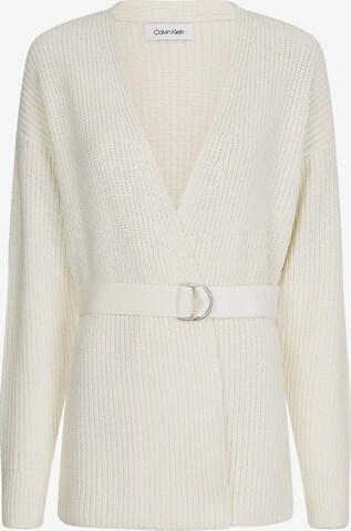 Cardigan Calvin Klein en blanc