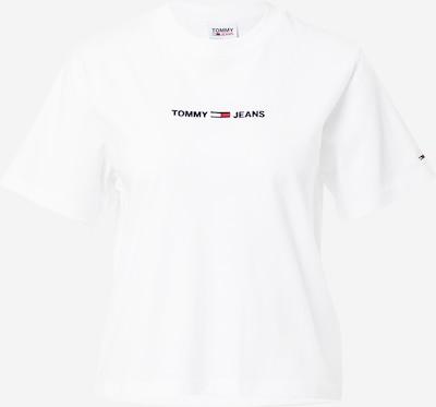 Tricou Tommy Jeans pe bleumarin / roșu / alb, Vizualizare produs