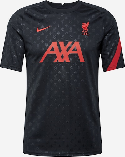 NIKE Camiseta de fútbol 'Liverpool FC' en rojizo / negro, Vista del producto
