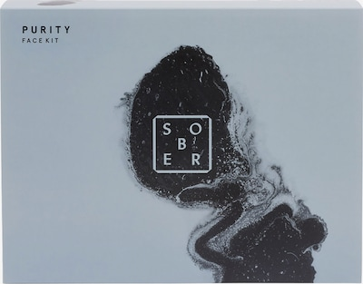 sober Purity Face Kit in transparent, Produktansicht