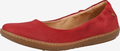 EL NATURALISTA Ballerina in rot, Produktansicht
