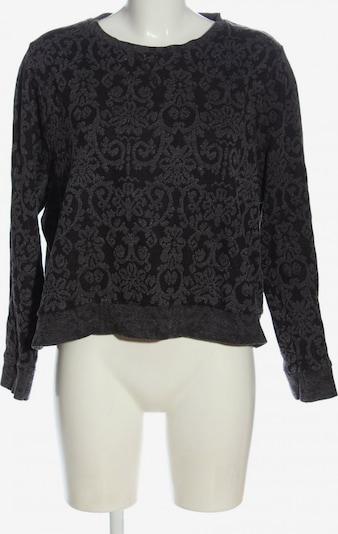 Rainbow Sweatshirt in XXL in hellgrau / schwarz, Produktansicht