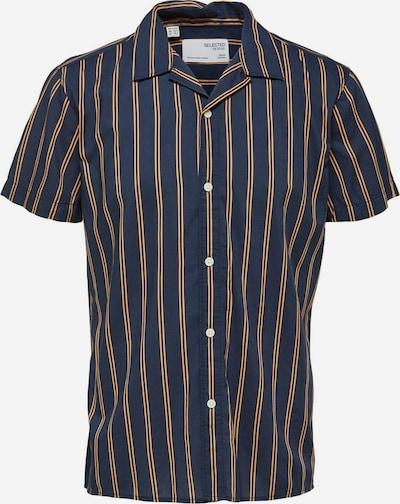 SELECTED HOMME Overhemd in de kleur Blauw / Goud, Productweergave