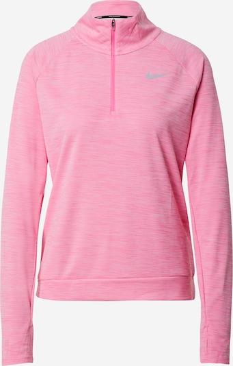 NIKE Tehnička sportska majica u roza melange, Pregled proizvoda