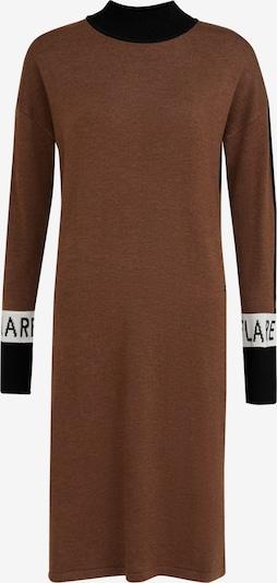 Finn Flare Gebreide jurk in de kleur Bruin, Productweergave