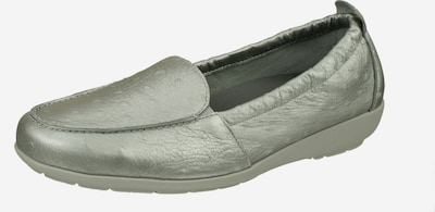 Natural Feet Slipper 'Aurelia' in silber, Produktansicht