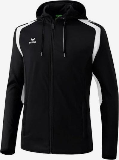 ERIMA Trainingsjacke ' Razor' in schwarz / weiß, Produktansicht