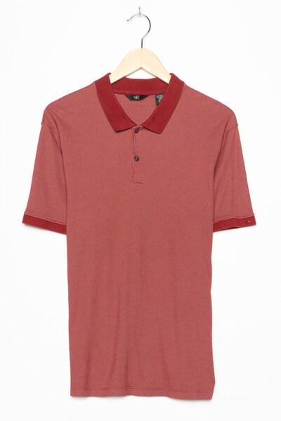 Calvin Klein Polohemd in M/L in karminrot, Produktansicht