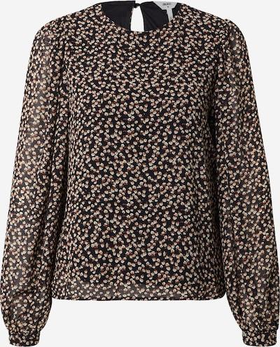OBJECT Bluse i brun / sort / hvid, Produktvisning