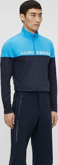 J.Lindeberg Sporttrui in de kleur Navy / Lichtblauw, Productweergave