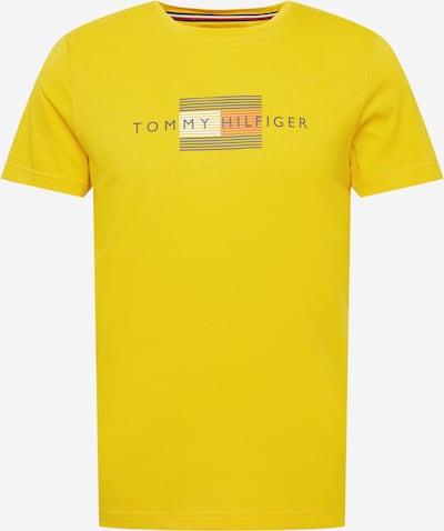 TOMMY HILFIGER T-Shirt in nachtblau / gelb / rot / weiß, Produktansicht