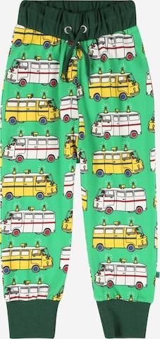Småfolk Püksid, värv roheline