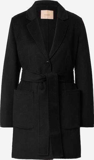Twinset Преходно палто 'Cappotto' в черно, Преглед на продукта