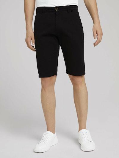 TOM TAILOR Chino kalhoty - černá, Model/ka