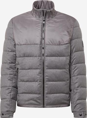 BOSS Between-season jacket 'Cink' in Grey