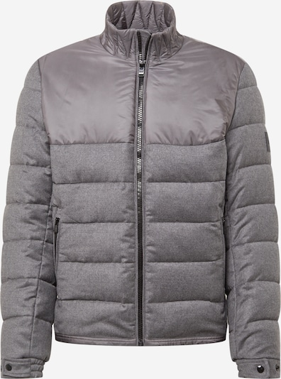 BOSS Between-Season Jacket 'Cink' in mottled grey, Item view