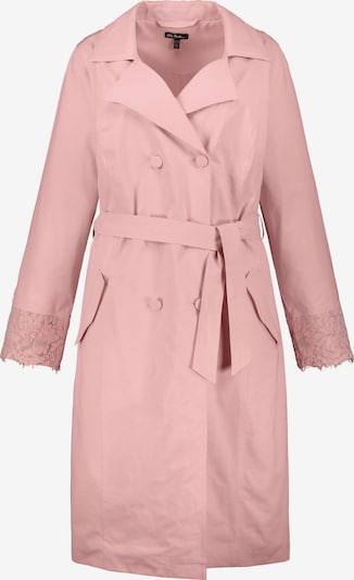 Ulla Popken Trenchcoat in rosa, Produktansicht