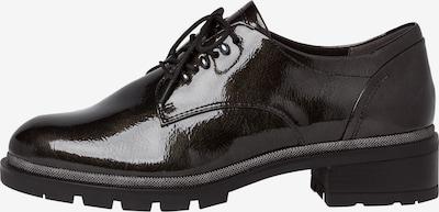 TAMARIS Chaussure à lacets en noir, Vue avec produit
