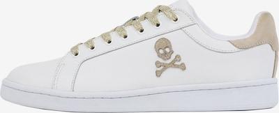 Scalpers Zemie brīvā laika apavi, krāsa - smilškrāsas / Zelts / balts, Preces skats